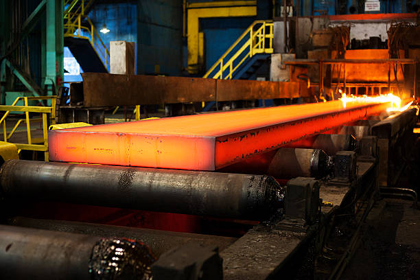 stel, steel mill, metallurgy stock photo