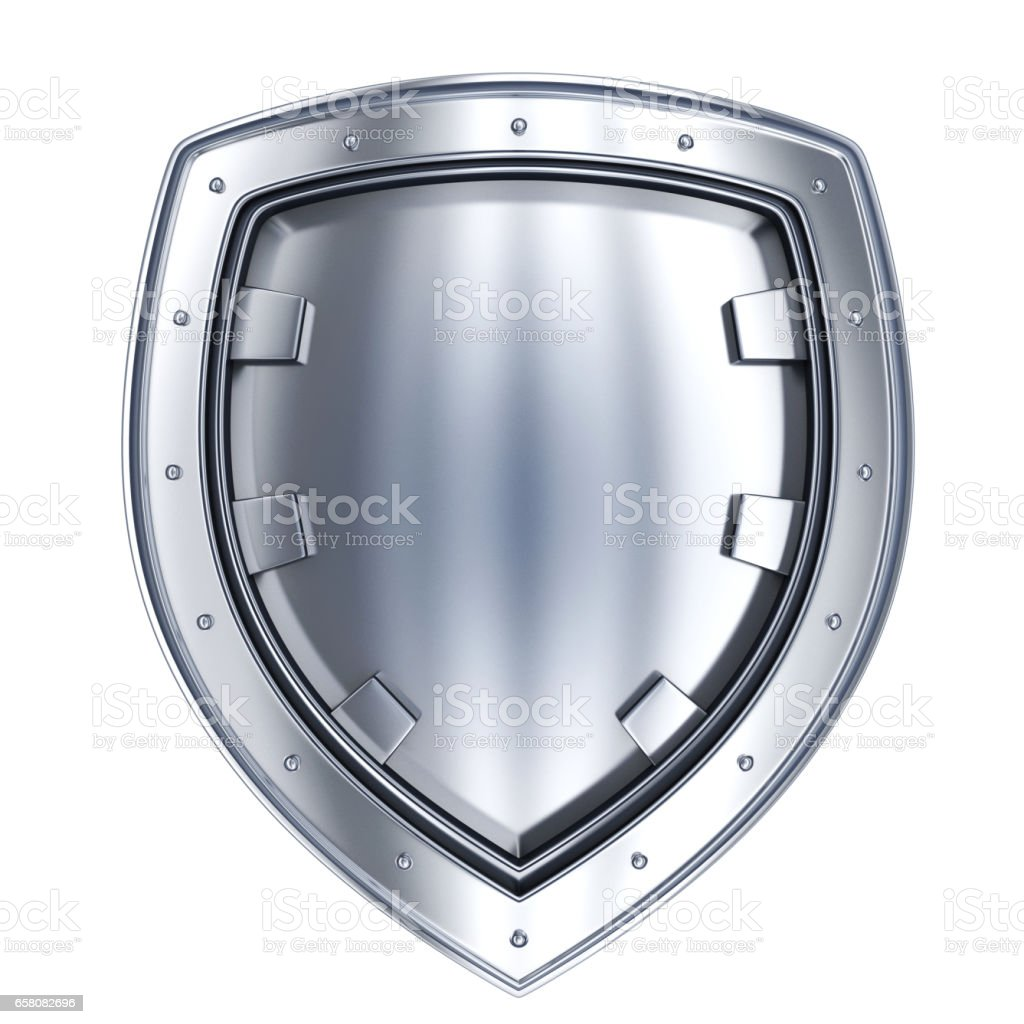 Stell shield only royalty-free stock photo