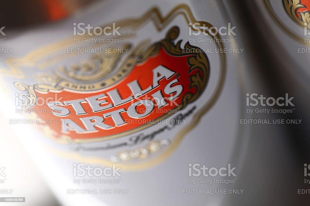 Stella Artois stock photo