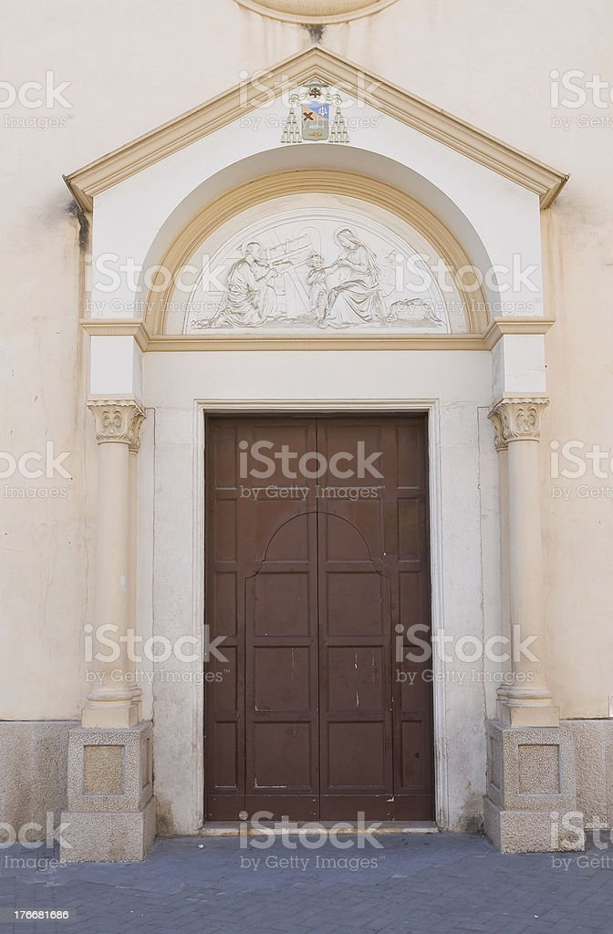 Stella Maris Church. Manfredonia. Puglia. Italy. royalty-free stock photo