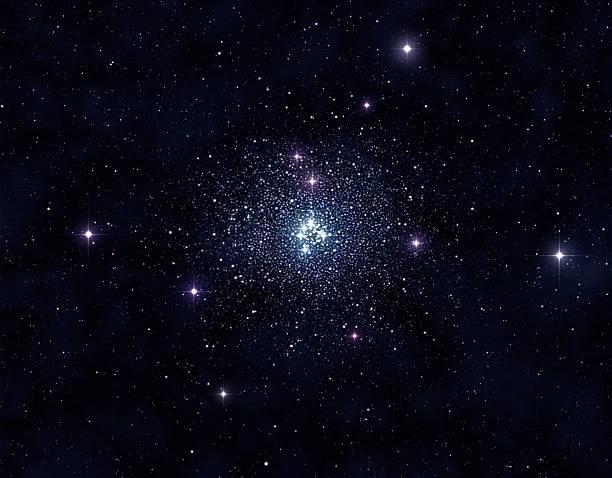 fantastische cluster - sternhaufen stock-fotos und bilder