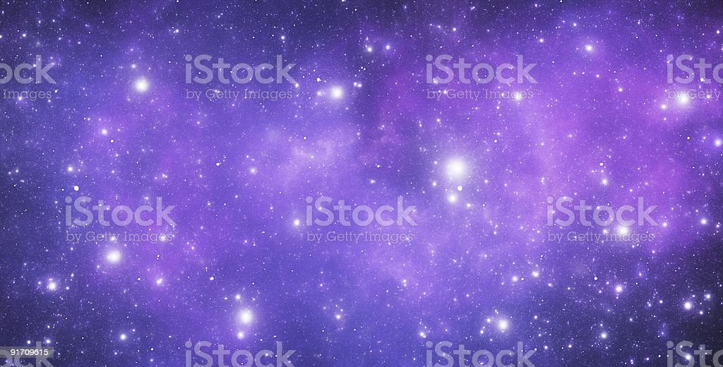 A Stellar constellation in the night sky royalty-free stock photo