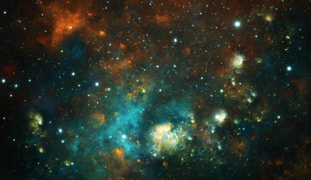 Stellar system stock photo