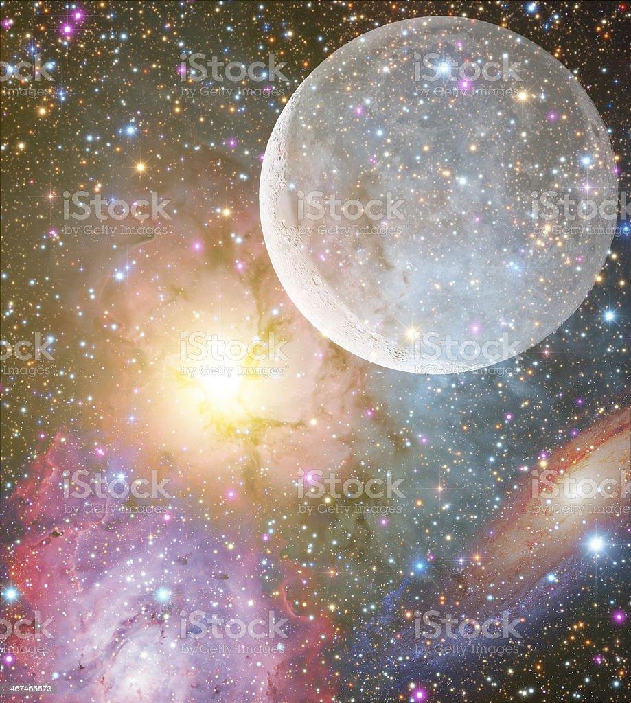 Stellar System royalty-free stock photo