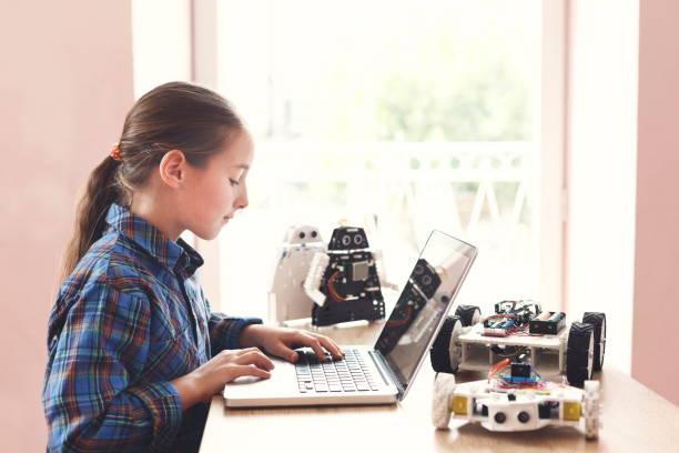 ergeben sie bildung. projekterstellung robotik, mock-up - unterrichtsplanung vorlagen stock-fotos und bilder