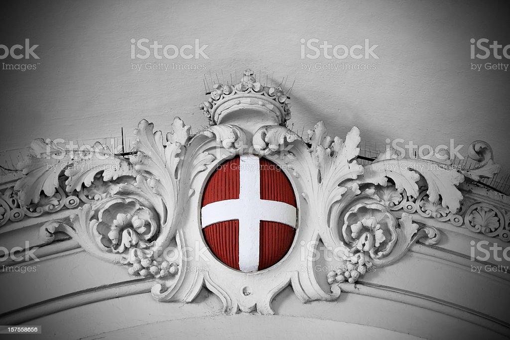 Stemma dei Savoia royalty-free stock photo