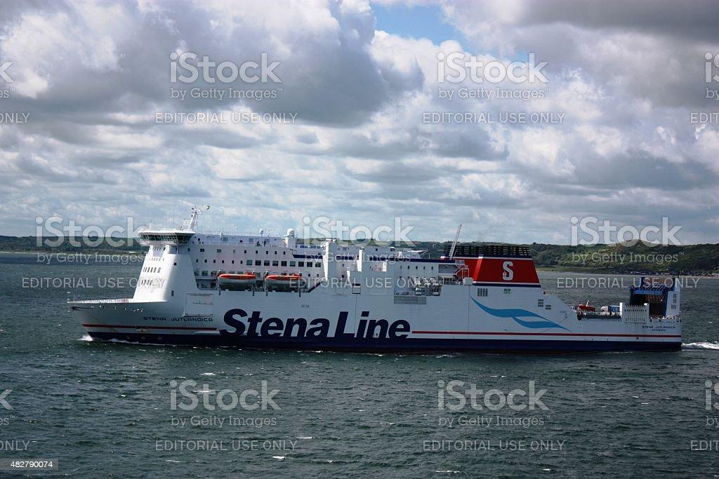 Stena Line a Swedish shipping company stock photo