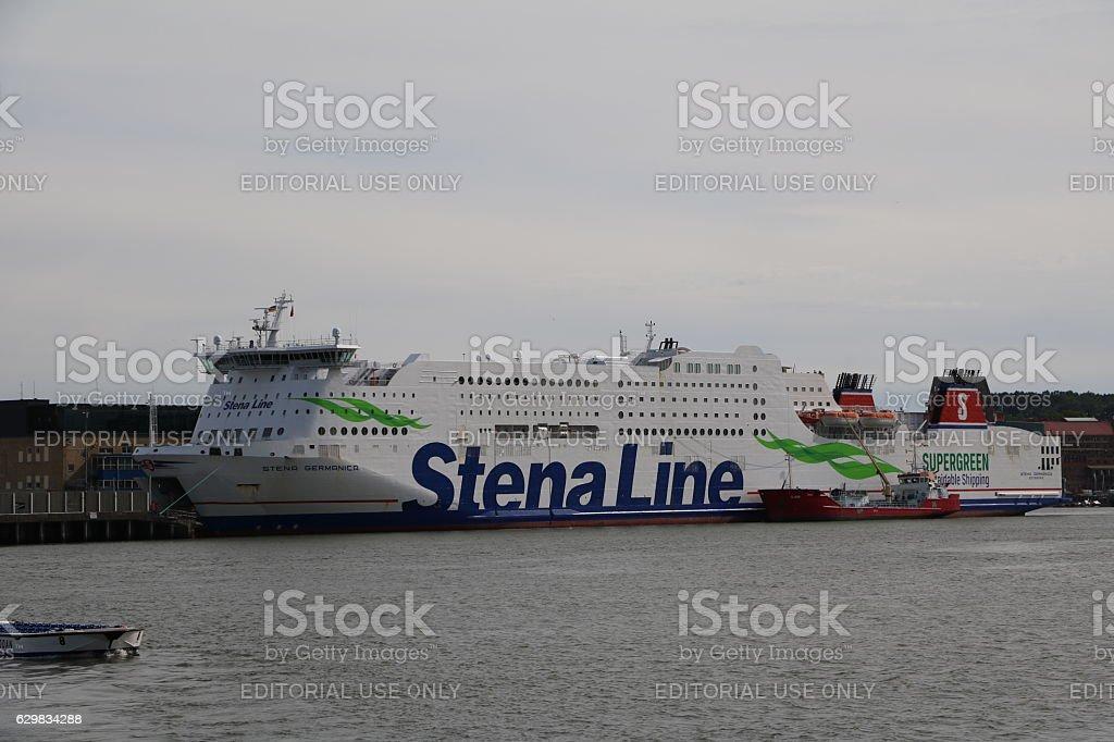 Stena Line in Gothenburg, Sweden Scandinavia stock photo