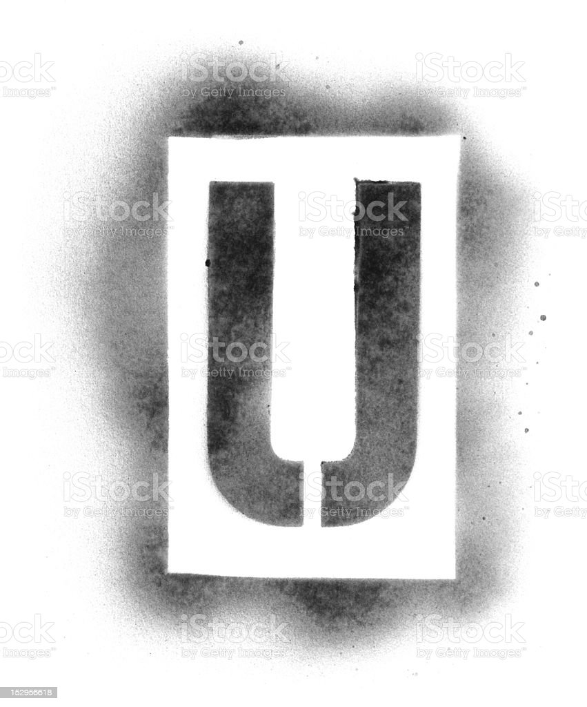 Stencil letters in spray paint stock photo more pictures of stencil letters in spray paint royalty free stock photo spiritdancerdesigns Images