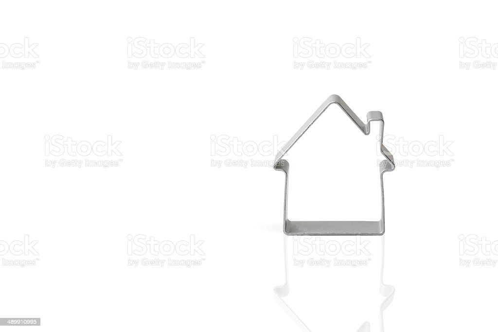 Stencil of House stock photo