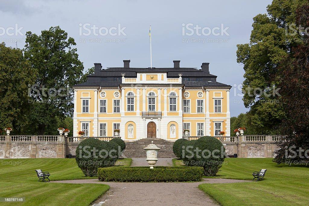 Steninge manor bildbanksfoto