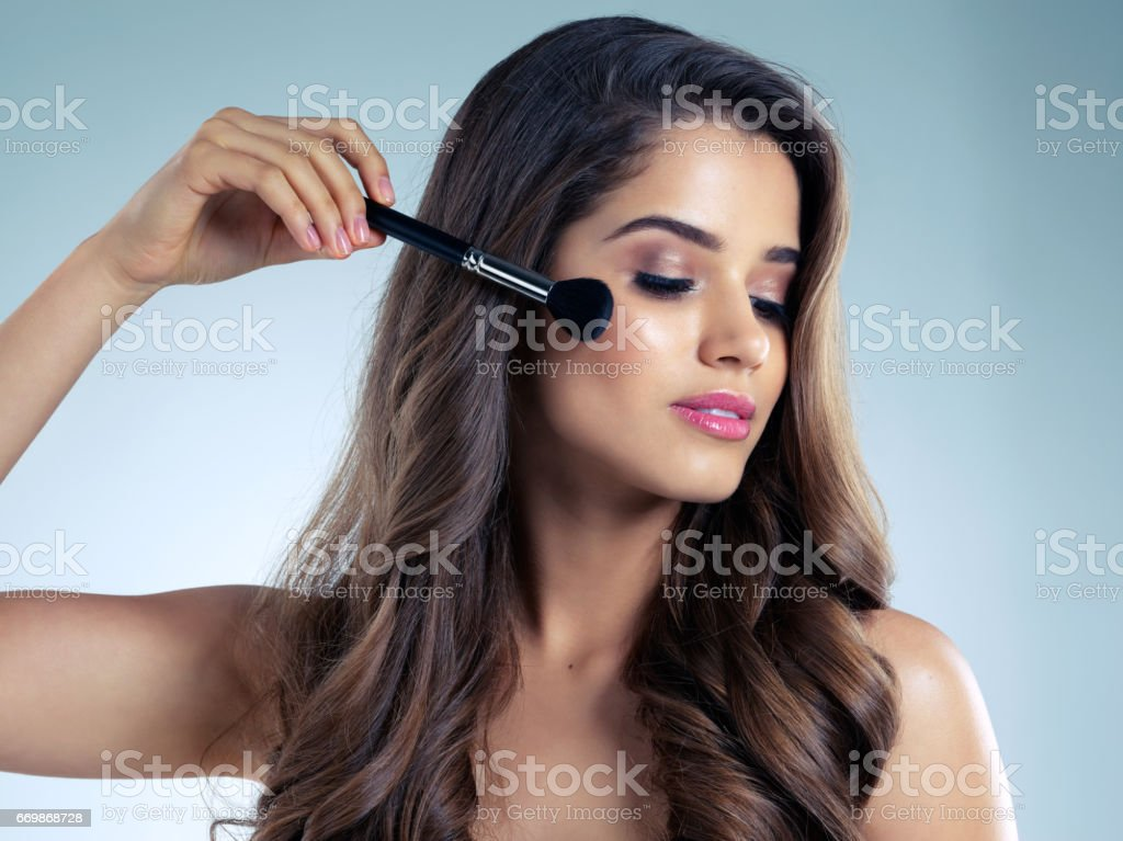 Step out in sheer radiance stock photo