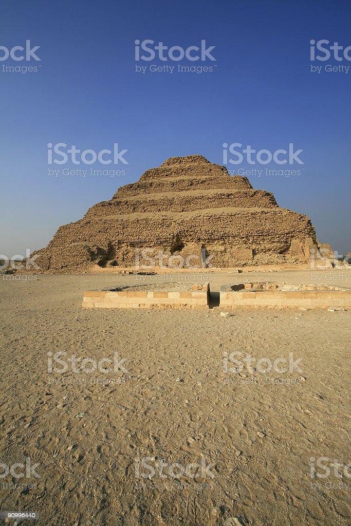 Step Pyramid of Djoser stock photo