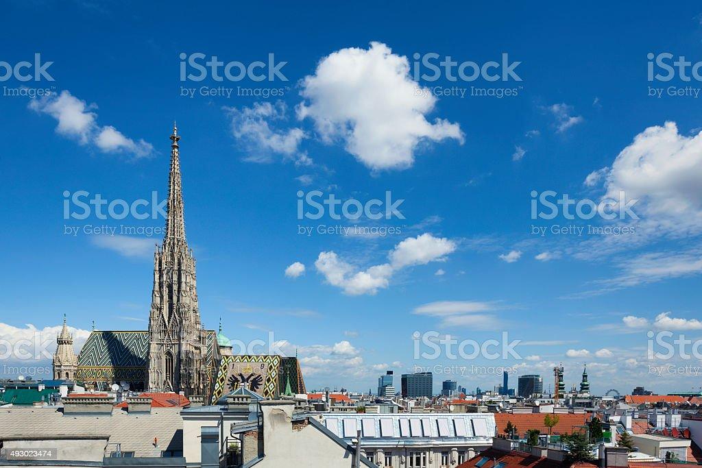 Stephansdom, Vienna stock photo