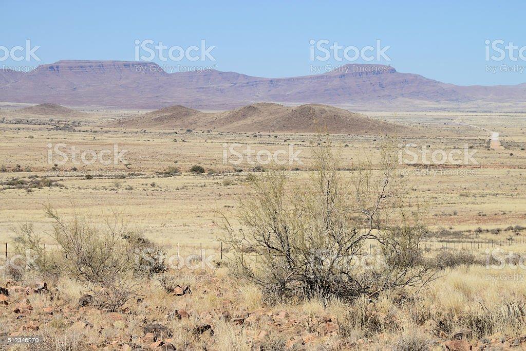 Steppe, Namib, Namibia stock photo