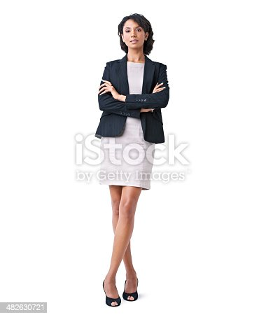istock Stepping into the business world with confidence and style 482630721