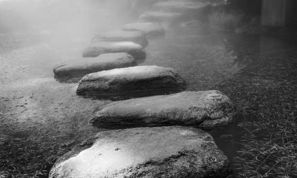 De gué stones - Photo