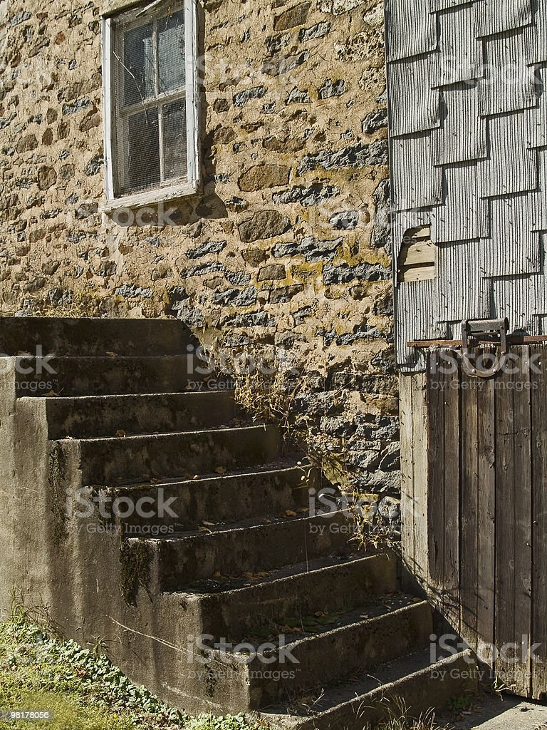 Steps and Stones royalty-free stock photo