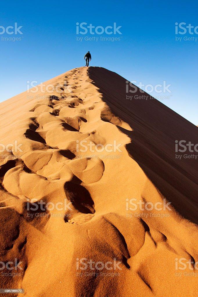 Steps dune stock photo