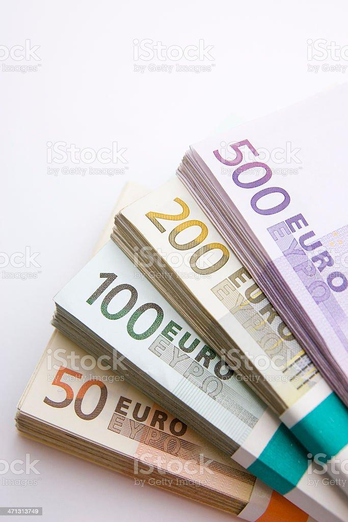 Pasos de billetes - foto de stock