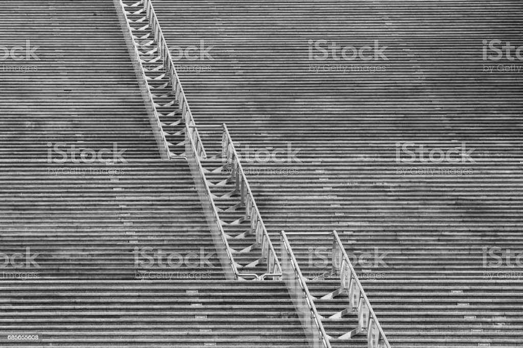 Steps of stone staircase as background foto de stock royalty-free