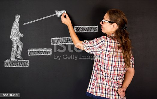 istock Steps to success 888183462