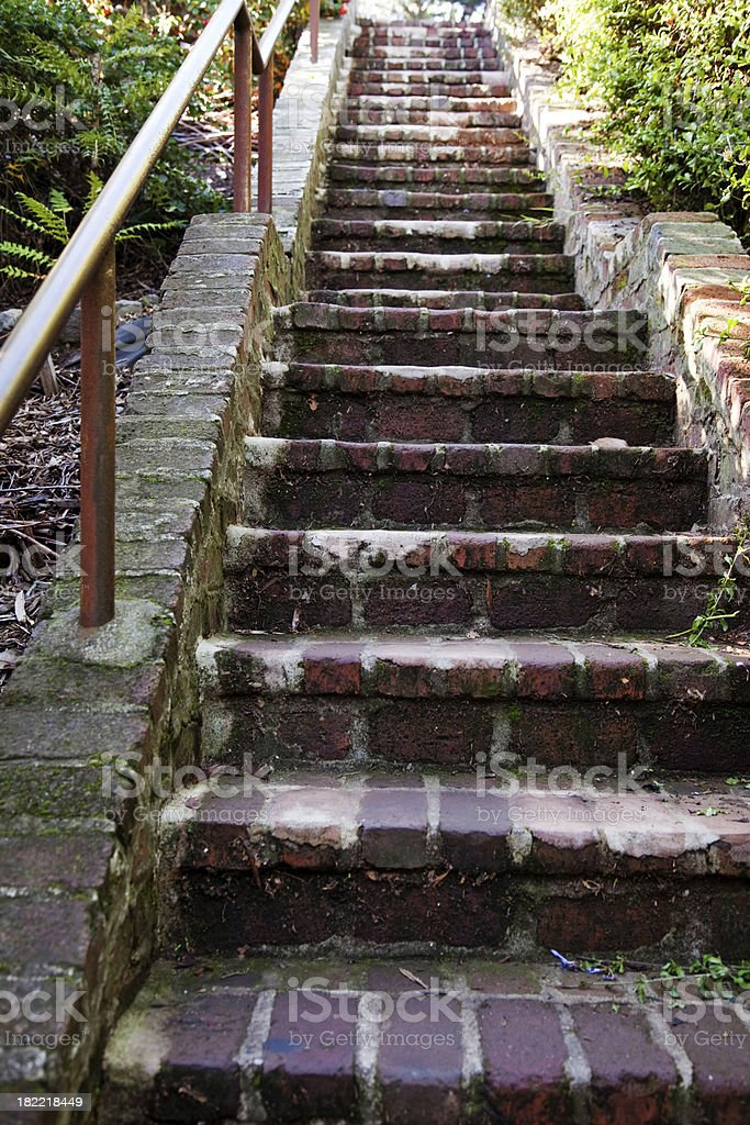 Steps Up stock photo