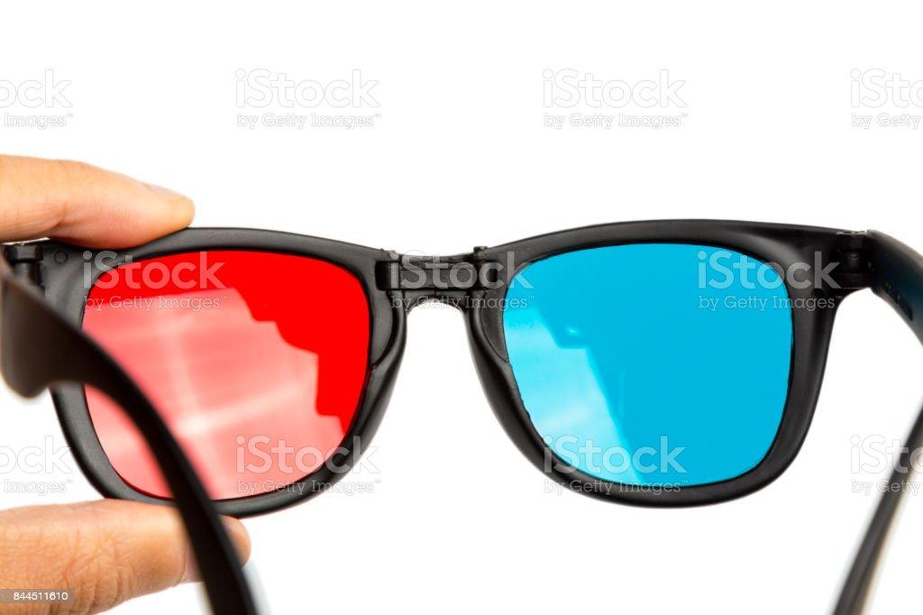 stereo glasses stock photo