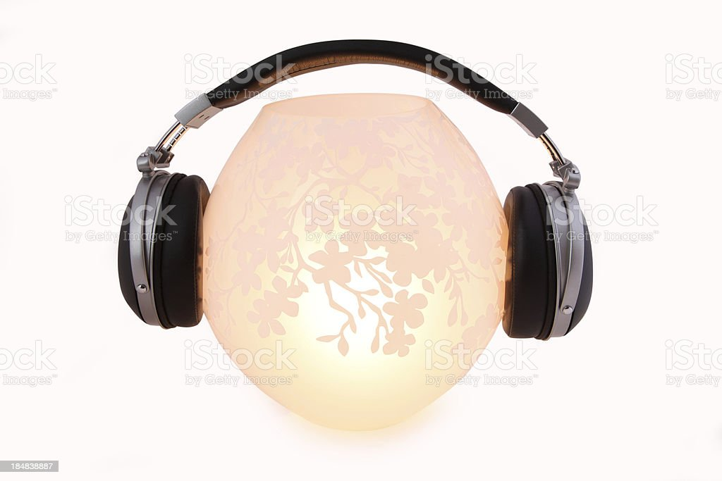 Stereo Headphone stock photo