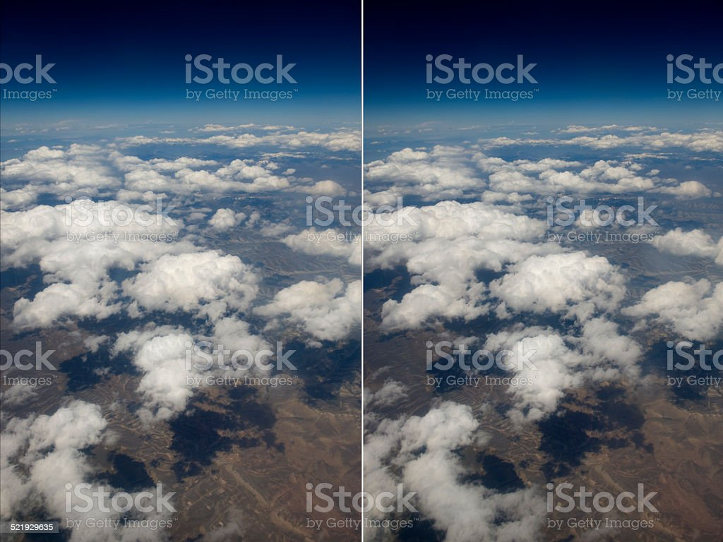 Stereo Pair Clouds Over The American Midwest Stock Photo Download Image Now Istock