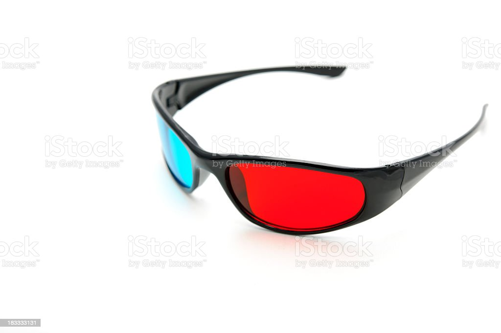 stereoscopic glasses royalty-free stock photo