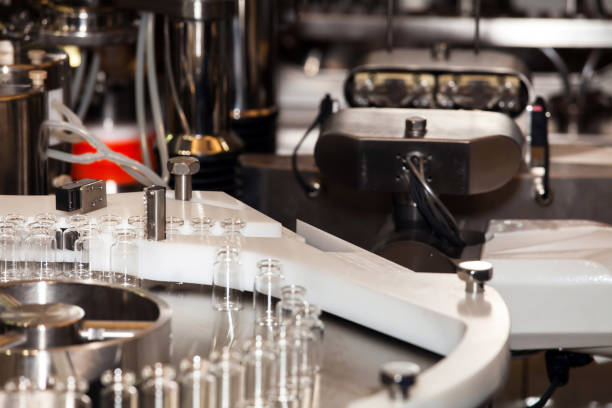 steriline isolators equipment - pharmaceutical compounding stock photos and pictures