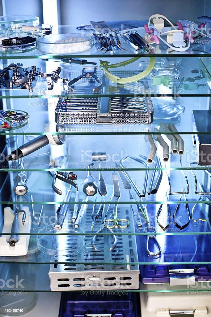 Esterilizados equipement dental foto de stock libre de derechos