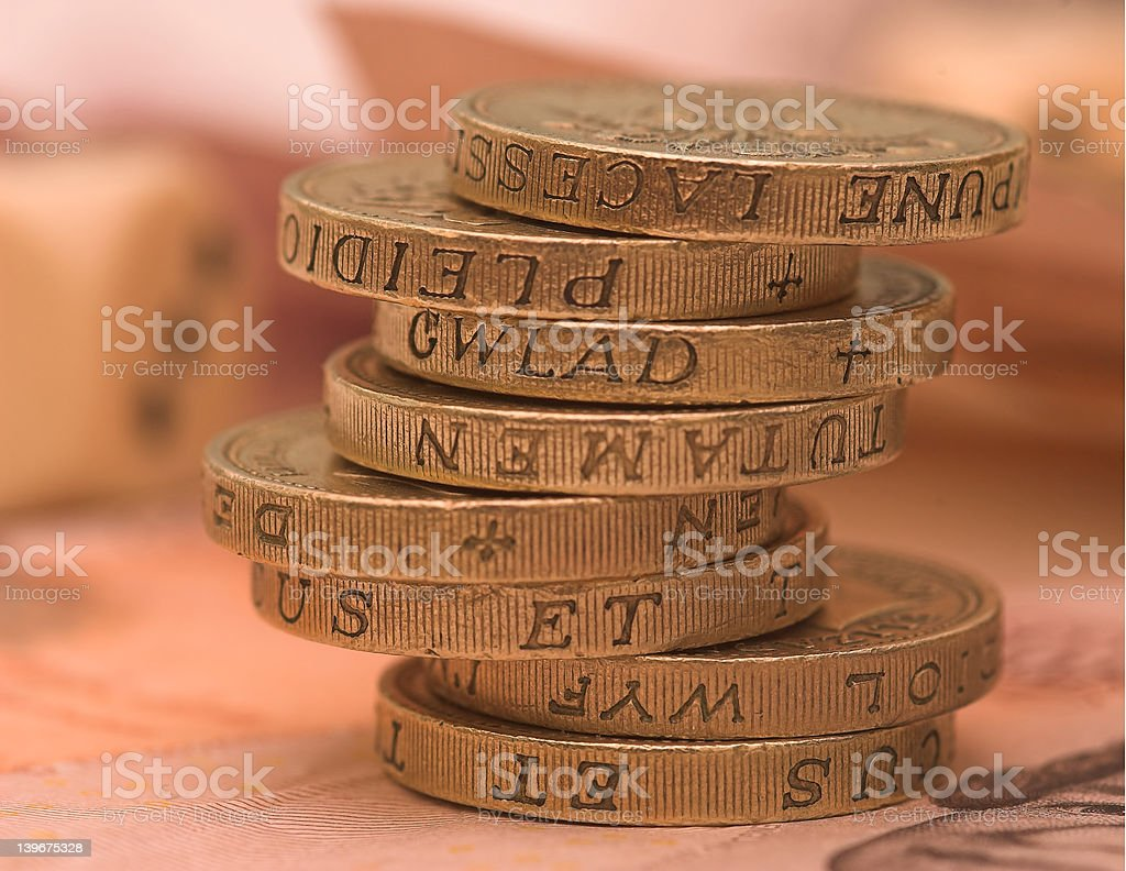 UK Sterling royalty-free stock photo