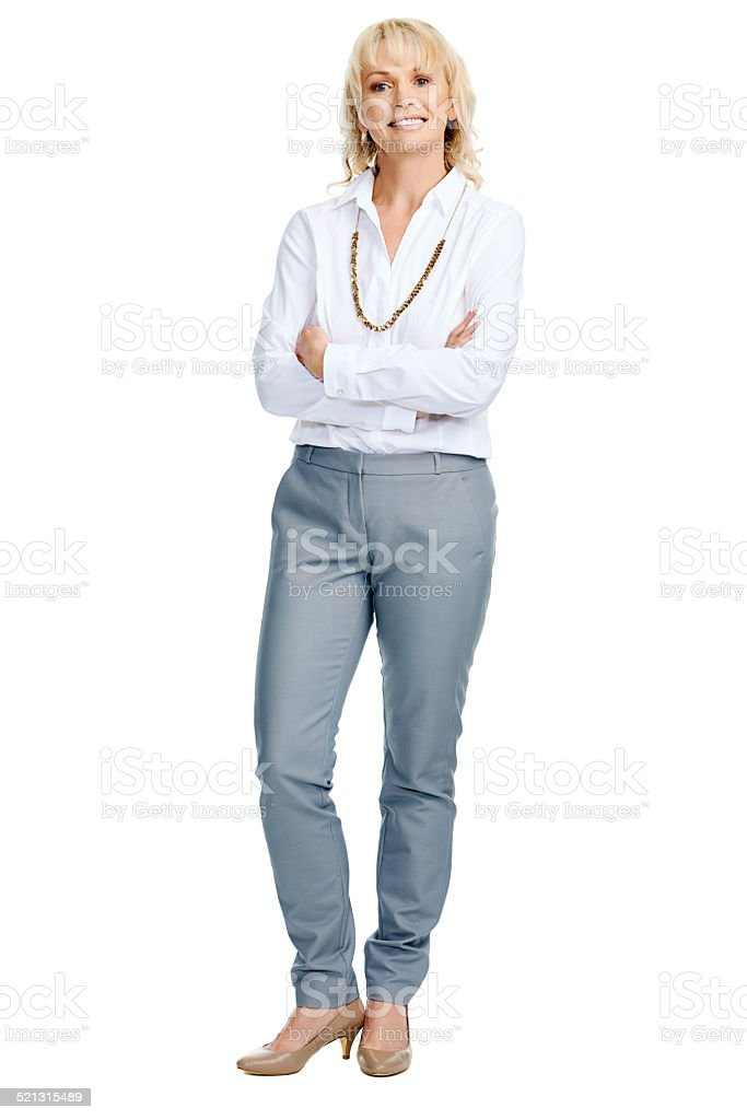 Stern Business Woman Stock Photo - Download Image Now - iStock