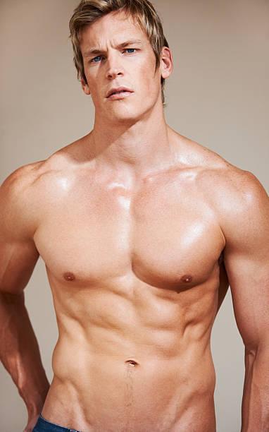 foto de Blond Hair Shirtless Male Men Stock Photos Pictures