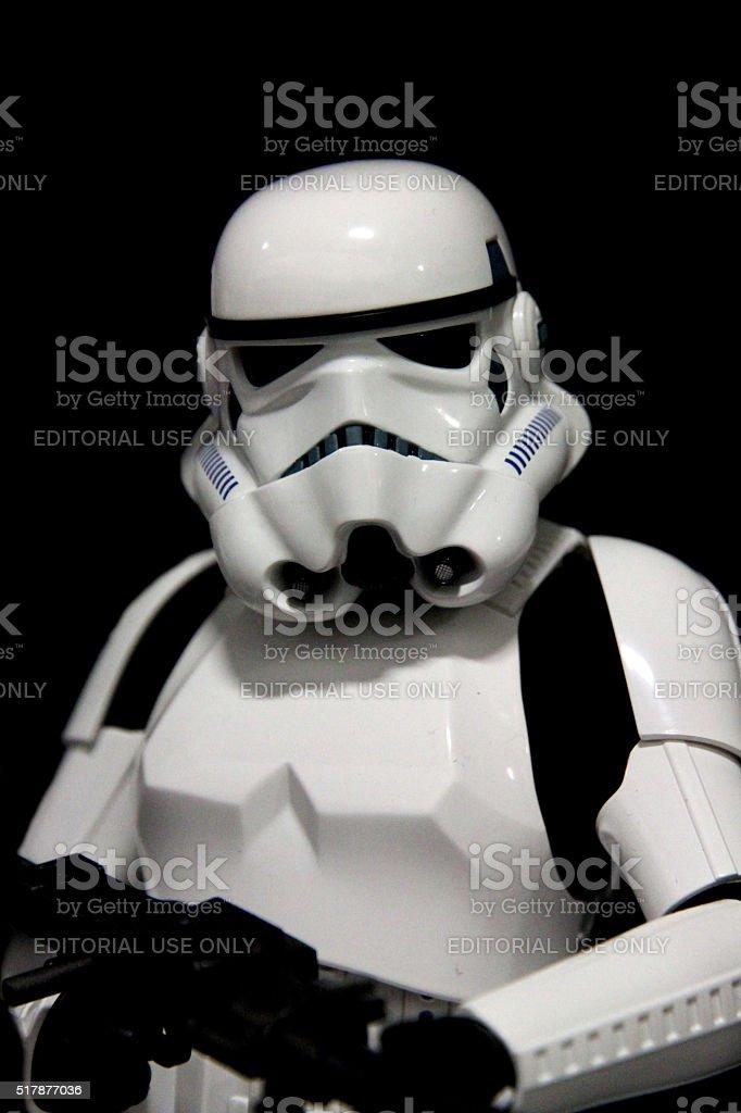 Stern Trooper stock photo