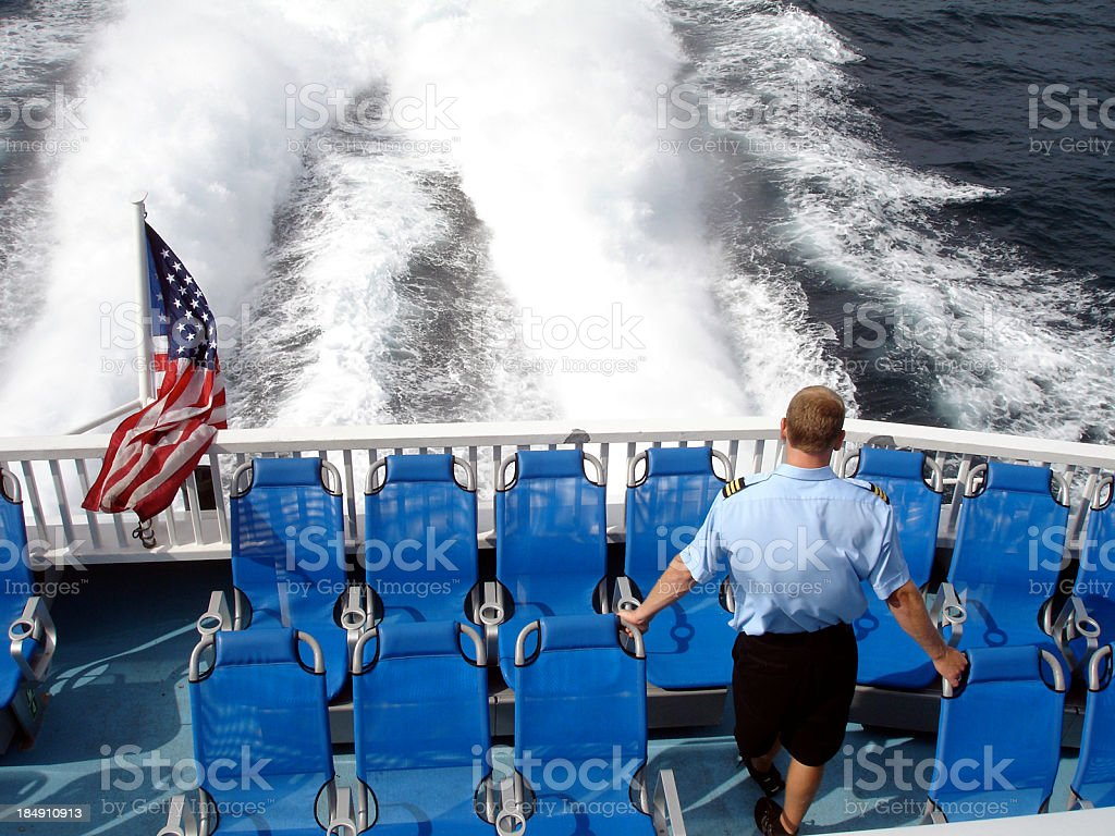 Stern View royalty-free stock photo