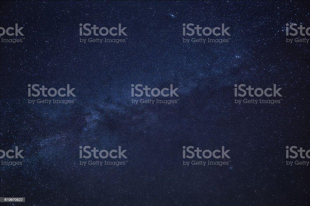 Sternenhimmel Milchstraße stock photo