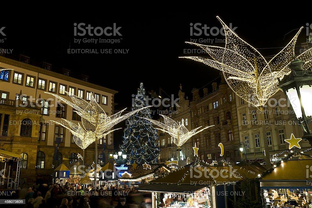 Sternschnuppenmarkt Wiesbaden – Foto