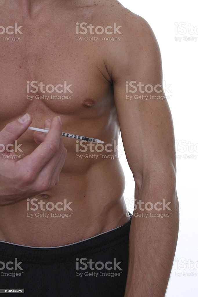 steroid abuse stock photo