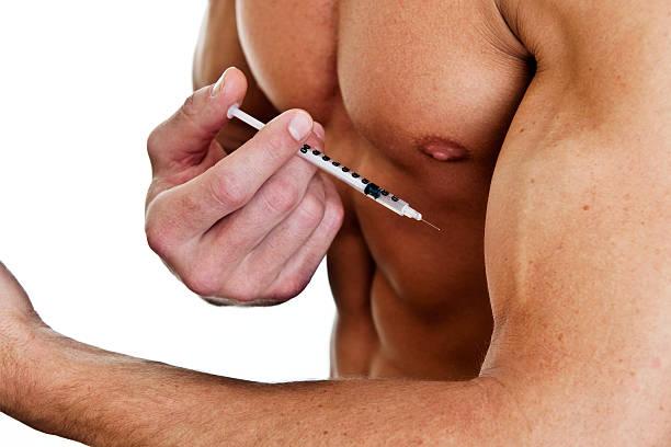 Steroids concept stock photo