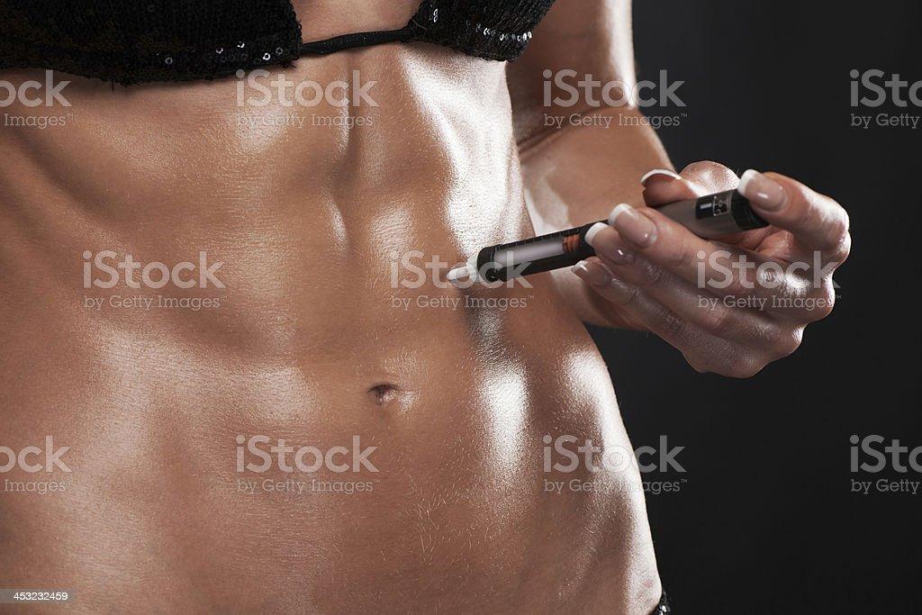 Steroids concept. stock photo