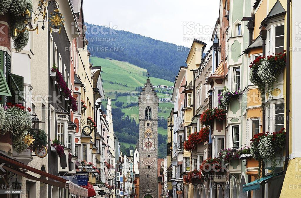 Sterzing in Südtirol stock photo