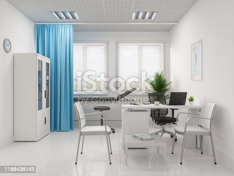894029864istockphoto Stethoscope And Laptop At The Doctor's Desk 1188438143