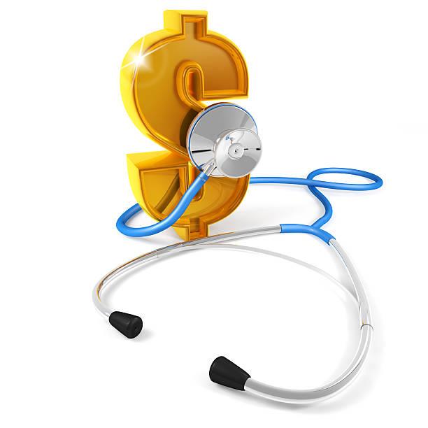 Stethoskop-dollar – Foto