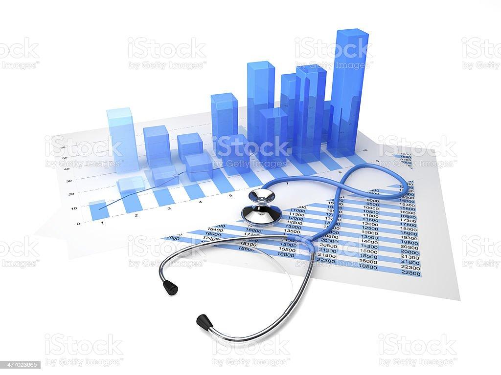 Stethoscope graphic stock photo