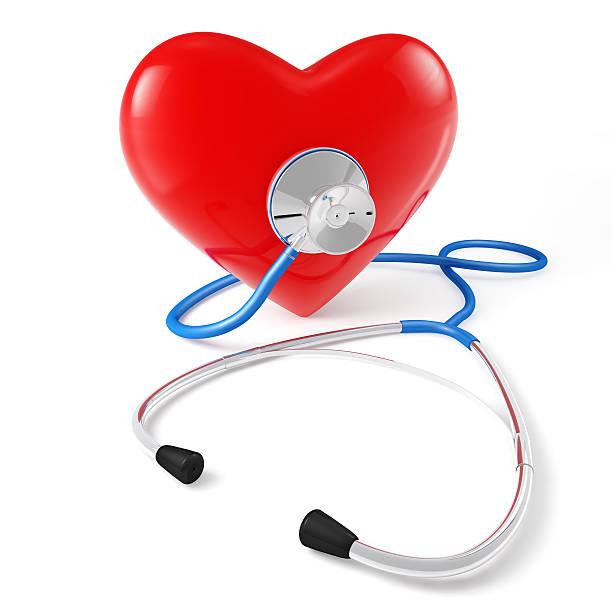 Stethoskop Herz – Foto