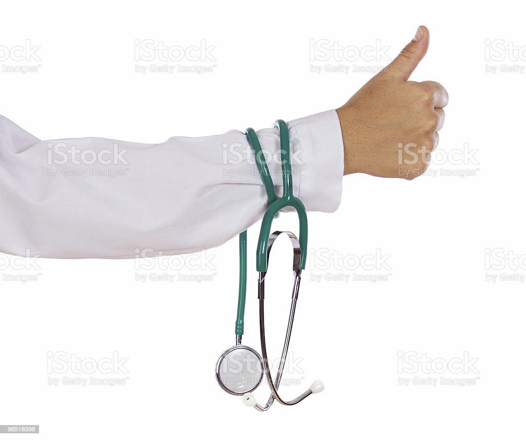 Stetoskop w rękę zbiór zdjęć royalty-free