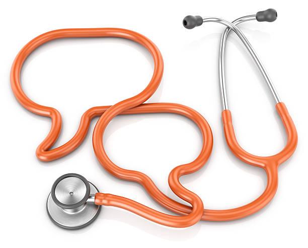 Stethoskop, medizinische Beratung Konzept – Foto